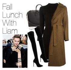 """""""Fall Lunch with Liam Payne"""" by onedirectionimagineoutfits99 ❤ liked on Polyvore featuring Givenchy, Maison Margiela, Harris Wharf London and Oscar Tiye"""