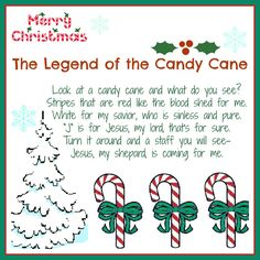 Legend of the Candy Cane