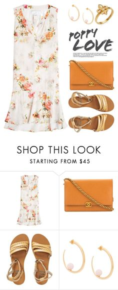 """""""~Summer Floral~ 4090"""" by boxthoughts ❤ liked on Polyvore featuring Velvet, Chanel, Billabong and KHIRY"""