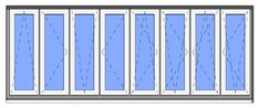 All-in-One Revit Window Family - Symbol Lines Options
