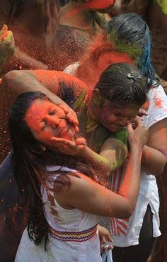 Holi Celebration In India Is Wild As Usual