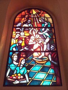 Catholic church in Glion. Riviera, canton Vaud