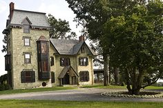 1845 Gothic Revival home, West Chester, Pa., Pine Street Carpenters