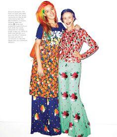 ADVANCED STYLE: Beatrix Ost in Harper's Bazaar November
