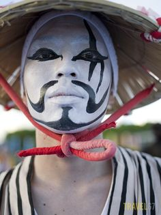 Okinawa Eisa Festival - Chondara Clown | Flickr - Photo Sharing!