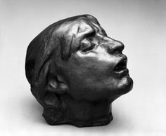 Head of sorrow one of my fav pieces... Something about the look on her face it's captivating #rodin