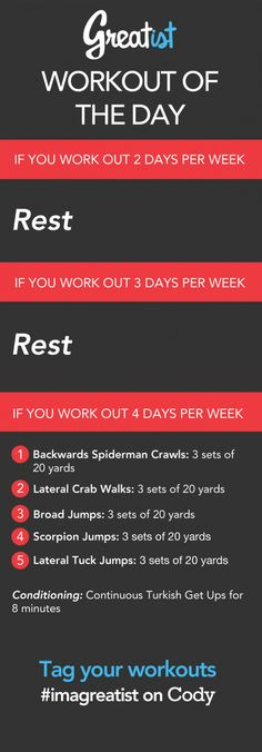 Workout of the Day: Sep. 24