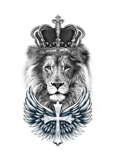 The lion- These lions are cool and they are the king of the animals that never move with him and he is the most ferocious. Lion Leg Tattoo, Lion Tattoo With Crown, Lion Forearm Tattoos, Lion Tattoo Sleeves, Lion Head Tattoos, Forarm Tattoos, Leg Tattoo Men, Best Sleeve Tattoos, Tattoo Sleeve Designs