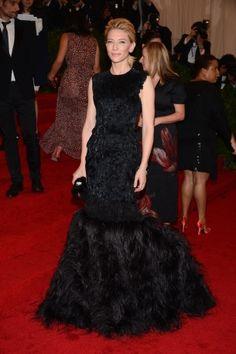 Gli abiti del Met: Cate Blanchett in Alexander McQueen