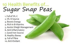 Check out the top 10 health benefits of sugar snap peas and keep your body healthy!
