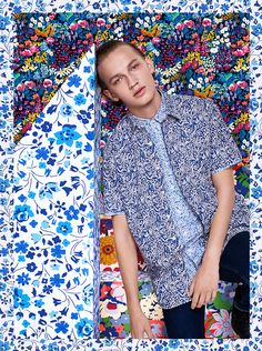 Liberty of London for Uniqlo S/S 16