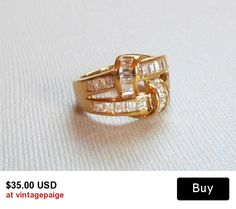 Vintage Love Knot Ring #vintage #jewelry #etsy