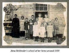 "A home-based school in Florida around the turn of the century - ""Mrs. Anna Rehbinder still had a private school in their home in 1886 for which one dollar per month per pupil was charged.  She first taught only the Russian children of Geneva until she herself could speak English and then taught the various children of Geneva."""