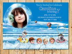 Frozen Invitation Disney Frozen Birthday Party by BogdanDesign, $7.99