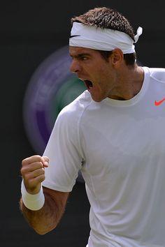 Delportro in Wimbledon, 2013