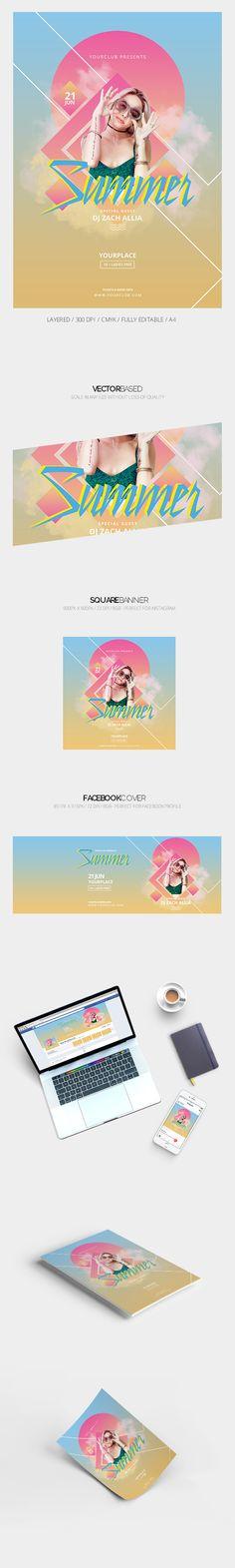 Summer Flyer on Behance