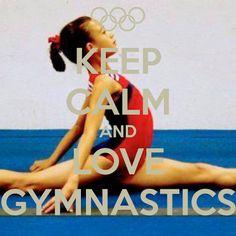keep calm and love gymnastics - Google Search