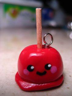 so cute candy apple charm
