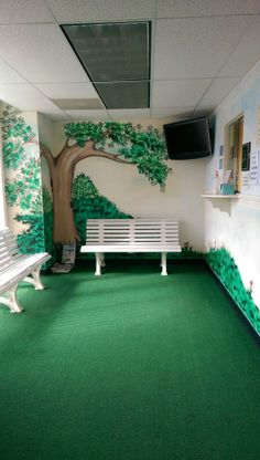 Love this Pediatric Office waiting room located in Bowie, MD :)