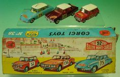 Mullock's Auctions - Corgi Toys Boxed Diecast Cars: Number 38 Gift...