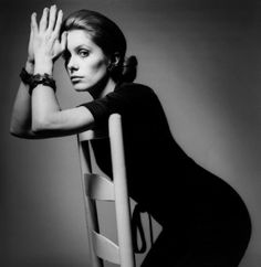 Catherine Deneuve by Jeanloup Sieff - Vogue. Paris, 1969