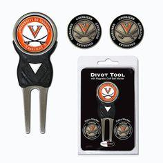 Virginia Cavaliers Ncaa Divot Tool Pack W-signature Tool