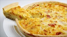 Pizza, Western Food, Quiche, Nom Nom, Bacon, Cheese, Breakfast, Recipes, Pai