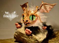 My dearest friend's incredible cute baby dragon <3