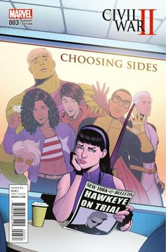 Civil War II: Choosing Sides #3 - Young Avengers Variant by Jamie McKelvie