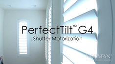 """This is """"PerfectTilt™ Shutter Motorization"""" by Norman USA on Vimeo, the home for high quality videos and the people who love them. Shutters, Window Treatments, Amazing, Blinds, Shades, Window Shutters, Exterior Shutters, Shutterfly"""