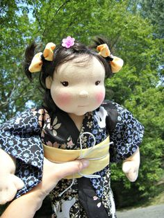 Japanese doll by Lali Doll Nursery