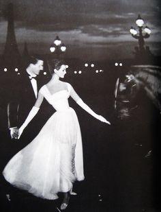 Carmen Dell'Orefice 1957 Paris