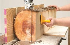 Simple Lumber Maker By Jay McClellan I've turned my bandsaw into a mini sawmil…