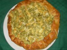 Quest'oggi vi proponiamo la ricetta di una torta salata realizzata con la pasta sfoglia e un ripieno di ricotta e broccoletti molto semplice e gustosa. Ecc