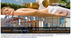 Newsletter n° 6 - Terracciano ti regala un soggiorno termale...