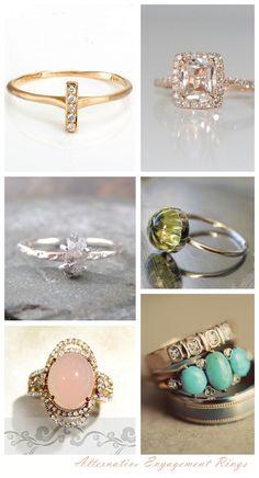 Stunning Alternative Engagement Rings