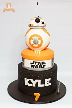 Star Wars Cake by The Sweetery - by Diana