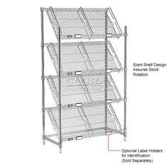 slanted shelf merchandiser 4 - Google Search