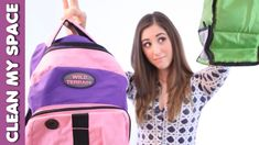 Clean a Backpack & Lunch Bag: Back To School Cleaning Tips 1/3 (Clean My...
