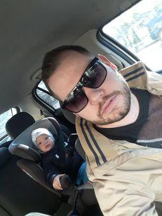 A kocsiban....