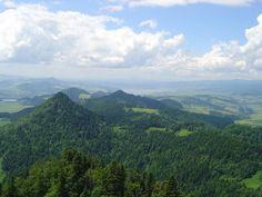 View of the nearby Pieniny from the summit of Three Crowns. Tatra Mountains, Native Country, Krakow, Warsaw, Poland, National Parks, World, Nature, Travel