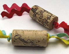Wine Cork Cat Toys