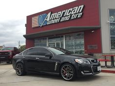 Chevy SS with Ace Alloy wheel V002. #awtmotorsports #awthtx #parkinglotshowoff #pls #americanwheelandtire #houston #wheels #rims #customwheels #customrims #acealloywheel #acealloy #acealloyrims #chevrolet #chevy #ss #chevyss #chevroletss #holden #muscle #americanmuscle #carinstagram #carswithoutlimits #exotic #race #spoiler #racing #hypercar #luxurylifestyle