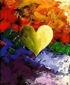 WORLD FAMOUS COLORFUL HEART PAINTING Original Art Fine Art Giclee Photographic Print at Artist Rising. Artist Rising is the premier destination for discovering original art, fine art and photography prints, and limited edition art by living artists. Heart Painting, Oil Painting Abstract, Chalk Painting, Oil Paintings, I Love Heart, Happy Heart, Mellow Yellow, Color Yellow, Heart Art