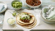 BBC big family cook off - smoky pork with a zingy salsa on a crispy tortilla makes for a great Saturday night.