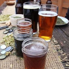 Although most people in the modern world have come to associate beer with one singular herb, hops was only one of many plants traditionally used to brew beer. European beers did not feature hops until around 800 C.E., and English brewers held out until around 1300 C.E. A wide variety of plants were used including Mugwort, Heather, and Myrica. #tbt