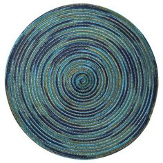 Shades Of Blue Round Placemat 4 Target 0 69 Sets Room