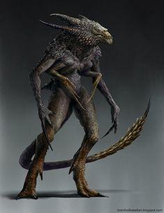 Creature Concept, Brent Hollowell on ArtStation at https://artstation.com/artwork/creature-concept-a1f32b77-d42f-4d27-a864-d8c25d778017