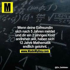 ...schön in Mathematik aufpassen ;-)