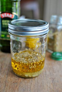 Easy Homemade Greek Salad Dressing | www.SimplyScratch.com